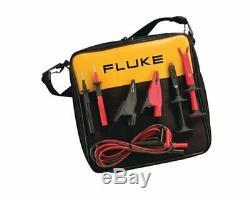 Fluke Tlk-220 Kit Plomb Test Suregrip Industriel Avec Vinyle Zippered Carry Case