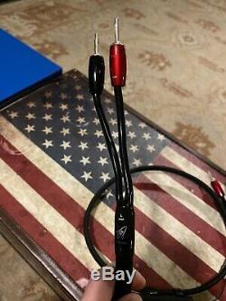 Haut-parleur Audioquest Rocket 88 Câbles Avec Suregrip 300 Bfa / Banana Connecteurs 5ft
