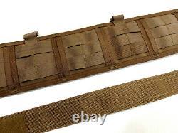 Hsgi Sure-grip Slotted Padded Belt With Inner Belt Large Coyote Navy Seal Devgru