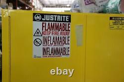 Juste Rite Sure Grip Ex Armoire De Sécurité Inflammable, 45 Gal, Modèle Jaune 894500
