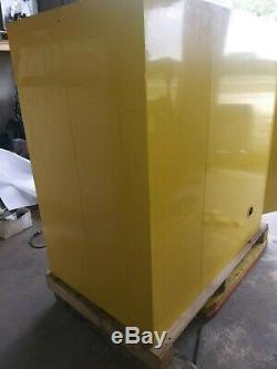 Justrite Sure-grip Ex Horizontal Sécurité Du Tambour Cabinet 55 Gallon Inflammable Cabinet