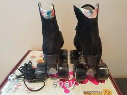Moxi Lolly Rouleau Noir Taille Skates 4 (w5-5.5) Ne Impala Sure-grip Riedell