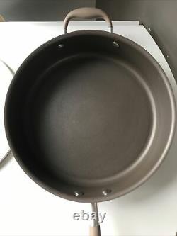 Neuf Dans La Boîte Anolon Advanced+ Suregrip Umber 28cm/4.7l Sauté Pan