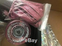 Nouveau Sure Grip Rose Prisme Quad Extérieur Roller Skates, Dames Taille 8