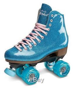 Nouveau! Sure Grip Stardust Glitter Intérieur / Extérieur Roller Skates Quad