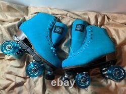 Nouveau Sure-grip Boardwalk Suede Roller Skates Taille Homme 5 (taille Femme 6)