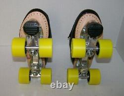Nouveau Sure-grip S-85 Custom Leather Roller Skates Taille Homme 8