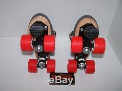 Nouveau Sure-poignée Labeda Cuir Custom Roller Derby Skates Taille Dames 7