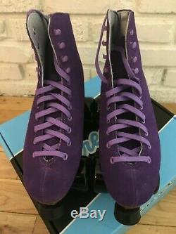 Nouvelle Sure-grip Boardwalk Patins À Roulettes (comme Moxi Lolly) Taille Mens Violet 8 / W9