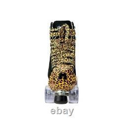 Patins Moxi Panther Taille 2 (w3-3.5) Noir Pas Impala Ou Sure-grip, Riedell