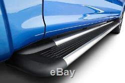 Pour Chevrolet Silverado 3500 Hd 07-19 Marchepieds 6 Cabine Sure-grip Noir Longueur