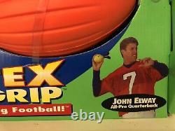 Rare Vintage John Elway Vortex Sure Grip Koosh 100 Yard Lancer Football Nib