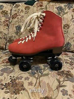 Red Sure Grip Boardwalk Skates Hommes 7