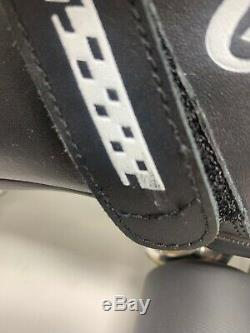 Riedell Carrera Patins De Vitesse Modèle 105b Noir 95a Hyper Sure Grip Taille 8