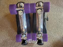 Rock Gt50 Médaillon Plus Sure Grip Hommes Intérieur Extérieur Patins À Roulettes Taille 15 Nouveau