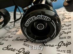 Sur-grip Boardwalk Roller Skats / Taille 5 / Black / New In Box