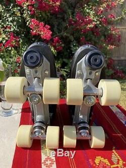 Sure Grip 73 Hommes 7 Cuir Noir Pleine Artistique Configuration Skate