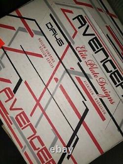 Sure Grip Avenger White Aluminum Plates Taille 3 Fits 8 & 9 Riedelle Da45 Patins