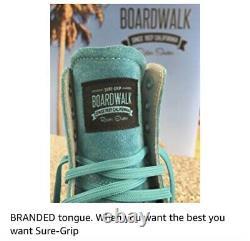 Sure Grip Boardwalk Outdoor Roller Skates, Red Suede, Taille Femme 7-7.5