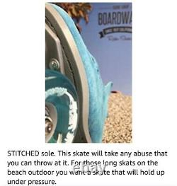 Sure Grip Boardwalk Patins À Roulettes En Plein Air, Teal Suede, Femmes 6-6.5 (mens 5)