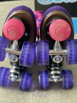 Sure Grip Boardwalk Violet Skates (taille 7 Hommes)