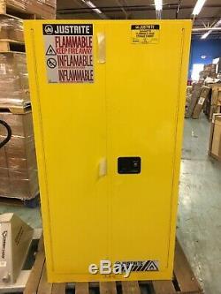 Sure Grip Ex Inflammable Cabinet De Rangement, Fermeture Manuelle, Justrite 896000/60 Gallon
