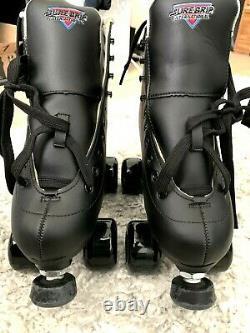 Sure Grip Fame Aérobic Rouleau Extérieur Patins Taille Noir 7 Hommes Femmes 8.5 Nouveau