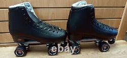 Sure Grip Fame Outdoor Roller Skates Black Men's Size 12 Avec Box New