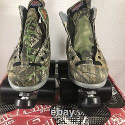 Sure Grip International Camouflage Speed Roller Patins Hommes Taille 6 Femmes 7 Nouveau