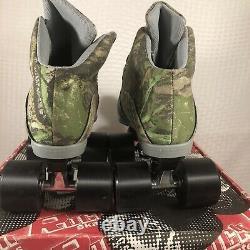 Sure Grip International Camouflage Speed Roller Skates Homme Taille 6 Femmes 7 Nouveau
