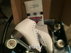 Sure Grip International Taille 8 Dames / Roller Blanc Patins Fame / Nouveau