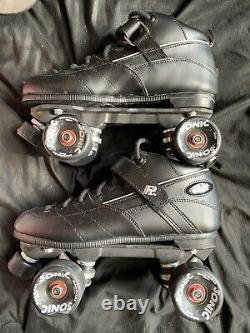 Sure Grip Rock Gt-50 Roller Derby Indoor/outdoor Quad Roller Skates Taille 10 Utilisé