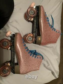 Sure Grip Roller Skates Taille 8 Hommes/ 9 Femmes Glitter Rose