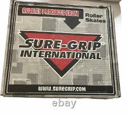 Sure-grip Black Roller Skates Fame Outdoor Wheels Hommes 6, 8 Femmes