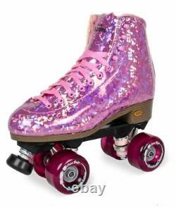 Sure-grip Quad Roller Skates Prism Plus Pink Limited Edition