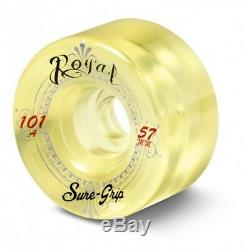 Sure-grip Royale Quad Skate Roues 101a Artistique Intérieur (pack De 8)