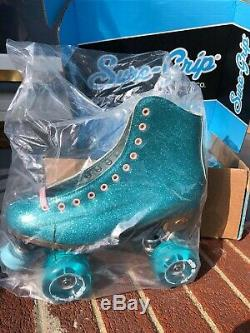 Sure-grip Stardust Glitter Patin À Roulettes Taille Blue Femmes 9