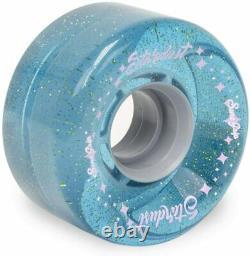 Sure-grip Stardust Glitter Quad Roller Skate Roues Extérieures 78a Bleu 62mm
