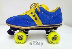 Sure-grip Vintage Jogger Roller Skates En Bleu / M4 Taille Jaune / W5