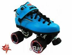Suregrip Rebel Roller Derby Bleu Quad Skates