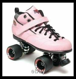 Suregrip Rebel Roller Skates Pink Derby Poste Gratuit