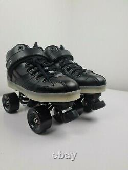 Suregrip Rock Gt50 Roller Skate Zen Sonar Roues Noir Derby 8,10 Nouveau Poste Gratuit