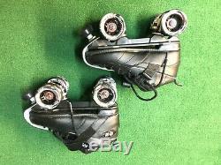 Suregrip Rock Rouleau Quad Skates Taille Gt-50 7 Noir Marque Neuf Dans La Boîte