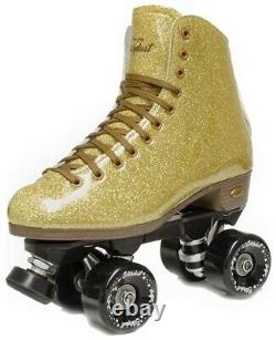 Suregrip Stardust Roller Skates Glitter Gold Taille 9