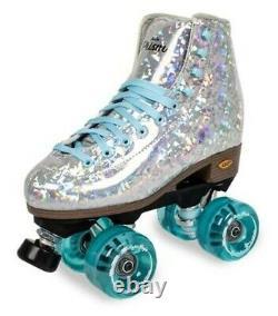 Tout Nouveau Prism Plus Silver Roller Skates Taille Homme 7 (intérieur/extérieur)