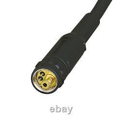 Unimig Sb24 Suregrip Mig Torch 3 Metre Gun Welding Binzel 250amp Euro Connection
