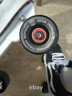 Vans Skate Sk8-hi Rollerskates Patins À Roulettes Personnalisés Hommes 10 10.5 Black Pro