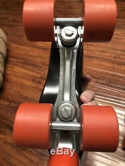 Vintage Dominion Patin À Roulettes Bien Sûr Super Grip Taille 9 Nos Lot 2 Paires Nouveau Non Box