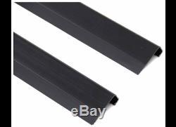 Westin 27-6115 6 Wide Black Aluminium Sure-grip Marchepieds
