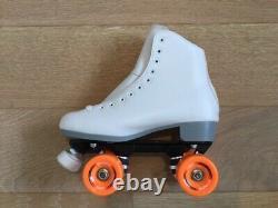 White Suregrip Malibu Roller Skates Taille Femme 8